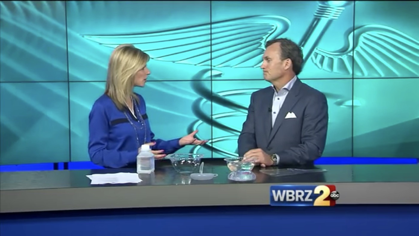 Dr Stephens on 'No Touch' breast augmentation technique WBRZ